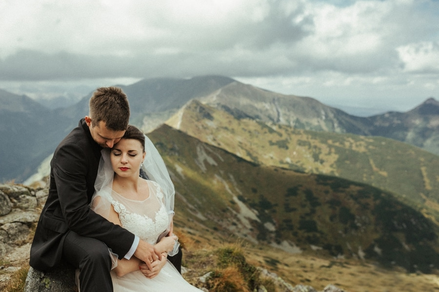 wedding session in Tatra Mountains Poland