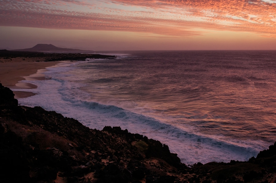 sunset canary islands