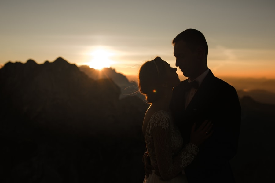 Wedding session in mountains - Italian & Slovenian Alps